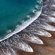 Cuspidi sulla spiaggia: le misteriose onde nel Dorset FOTO