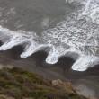Cuspidi sulla spiaggia: le misteriose onde nel Dorset FOTO 2
