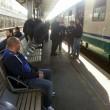 Ritorno da Lourdes. Alluvione blocca in treno 2500 italiani 03