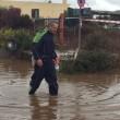 Olbia allagata: Rio Siligheddu fa temere alluvione4