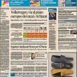 Putin, Ignazio Marino le prime pagine dei giornali (1)