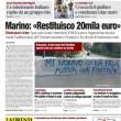 Putin, Ignazio Marino le prime pagine dei giornali (8)