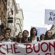 """Studenti in piazza contro la """"Buona Scuola"""