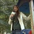 VIDEO YouTube. Giornalista cade dallo scivolo: papera a Bari3