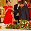 Kate Middleton in rosso: gioielli e diadema famiglia reale3