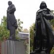 Odessa (Ucraina), statua Lenin diventa Dart Fener3