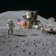 Nasa, gli scatti inediti delle missioni Apollo su Luna2