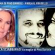 Pino Daniele, moglie Fabiola Sciabbarrasi a Domenica Live