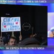 Pino Daniele, moglie Fabiola Sciabbarrasi a Domenica Live 2