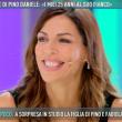 Pino Daniele, moglie Fabiola Sciabbarrasi a Domenica Live 3