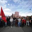 Cortei studenti in tutta Italia. Bologna, scontri. FOTO Roma16