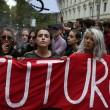 Cortei studenti in tutta Italia. Bologna, scontri. FOTO Roma3