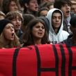 Cortei studenti in tutta Italia. Bologna, scontri. FOTO Roma2