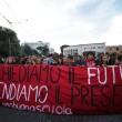Cortei studenti in tutta Italia. Bologna, scontri. FOTO Roma15