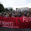 Cortei studenti in tutta Italia. Bologna, scontri. FOTO Roma14