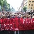 Cortei studenti in tutta Italia. Bologna, scontri. FOTO Roma13