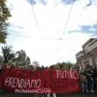 Cortei studenti in tutta Italia. Bologna, scontri. FOTO Roma12