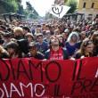 Cortei studenti in tutta Italia. Bologna, scontri. FOTO Roma11