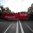 Cortei studenti in tutta Italia. Bologna, scontri. FOTO Roma9