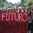 Cortei studenti in tutta Italia. Bologna, scontri. FOTO Roma8