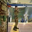 Roma, militari nelle stazioni metro dopo attentati Parigi 4
