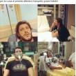 Aldo Monano ricoverato per allergia FOTO su Fb dall'ospedale2