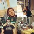 Aldo Monano ricoverato per allergia FOTO su Fb dall'ospedale