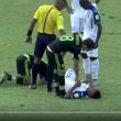Honduras-Messico, Il terribile infortunio di Garrido, ginocchio in frantumi. Durante le eliminatorie per i Mondiali. Video da YouTube in fondo all'articolo.