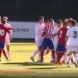 VIDEO YouTube - Luca Zidane espulso per testata