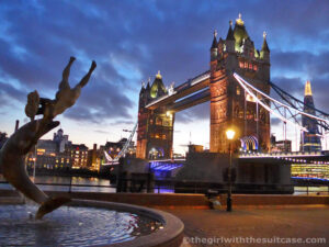 Tower Bridge - capodanno a Londra