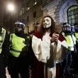 Londra, corteo Anonymous: scontri con polizia FOTO2
