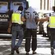 Polizia al confine Francia-Italia