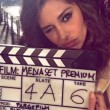 Belen Rodriguez testimonal Mediaset: primi scatti