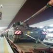 Bufala angosciante. Roma Tiburtina, carri armati in treno...