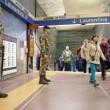 Roma, militari nelle stazioni metro dopo attentati Parigi