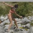Monte Bianco, Dayane Mello bagno sexy in perizoma FOTO4