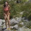 Monte Bianco, Dayane Mello bagno sexy in perizoma FOTO