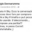 Gigio Donnarumma e i post su Facebook contro Conte...FOTO