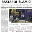 Attentati Isis a Parigi: Libero, prima pagina choc FOTO
