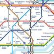 Londra: la mappa che ti dice distanza a piedi tra stazioni metro02