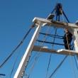 Pescatore Matteo Colella minaccia suicidio da torre barca FOTO 4