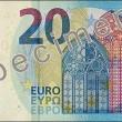 Nuova banconota 20 euro: più difficile da contraffare