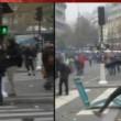 Conferenza sul clima: tensioni e lacrimogeni a Parigi03