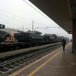 Bufala angosciante. Roma Tiburtina, carri armati in treno... 01