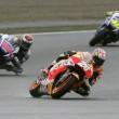 Jorge Lorenzo, Marc Marquez e Valentino Rossi (foto Ansa)