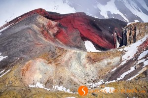 Trekking nella terra di Mordor: voros krater