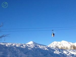 sciare con i bambini sulle alpi