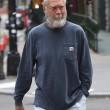 """David Letterman con barba lunga: """"Sembra Babbo Natale2"""