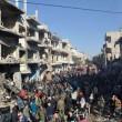 YouTube: kamikaze Isis si fa saltare in aria a Homs, Siria3