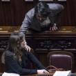 Maria Elena Boschi FOTO VIDEO mozione di sfiducia